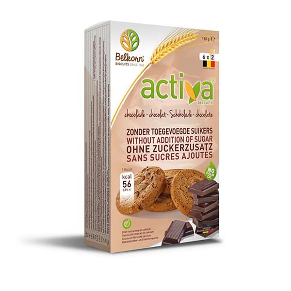 Activa Chocolade koekjes 160g