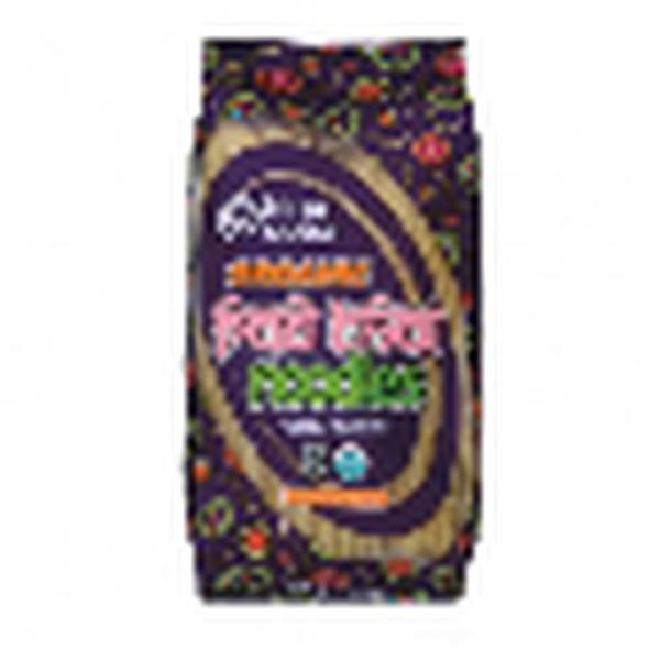 King Soba Pad thai bruine rijst noedels glutenvrij bio 250g