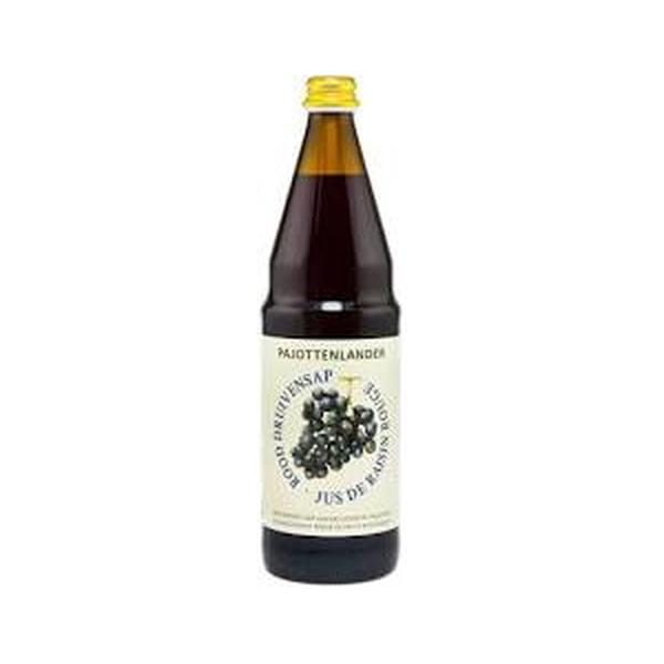 Pajottenlander Rood druivensap bio 0,75L