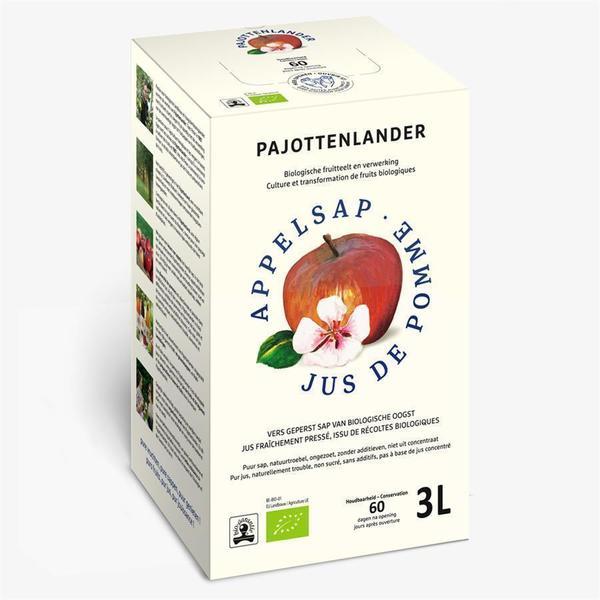 Pajottenlander Appelsap bio 3L