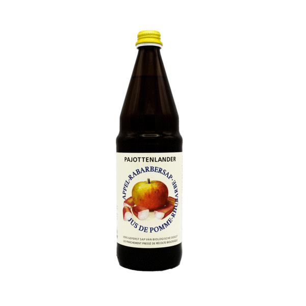 Pajottenlander Appel-rabarbersap bio 0.75L