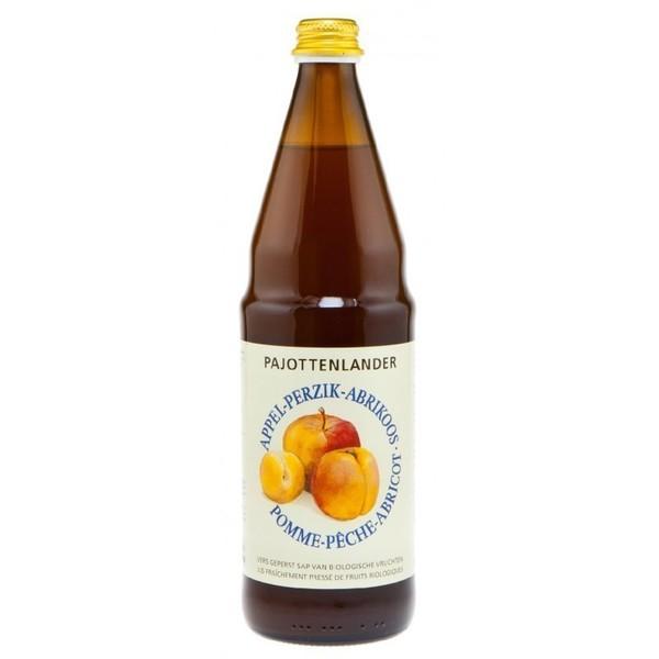 Pajottenlander Appel-perzik-abrikoossap bio 0,75L