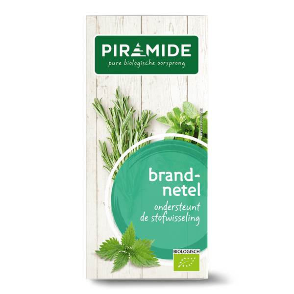 Piramide Brandnetel thee bio 20 builtjes