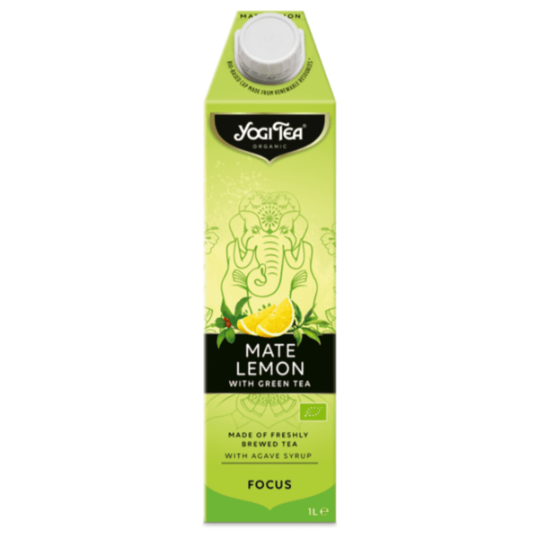 Yogi thee Mate lemon cold tea bio 1l