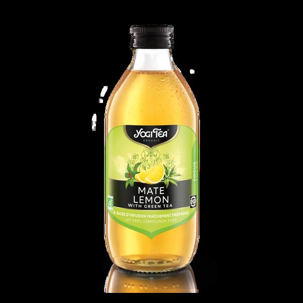 Yogi thee Mate lemon cold tea bio 33cl
