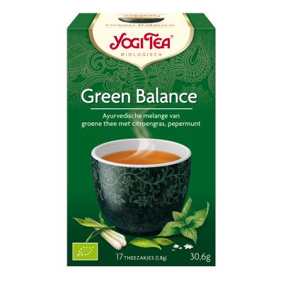Yogi thee Green balance bio 17 builtjes