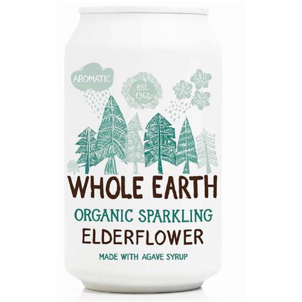 Whole earth Elderflower (vlierbloesem) bio 330ml