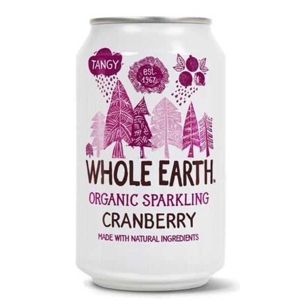 Whole earth Cranberry bio 330ml