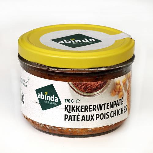 Abinda Kikkererwtenpaté bio 170g