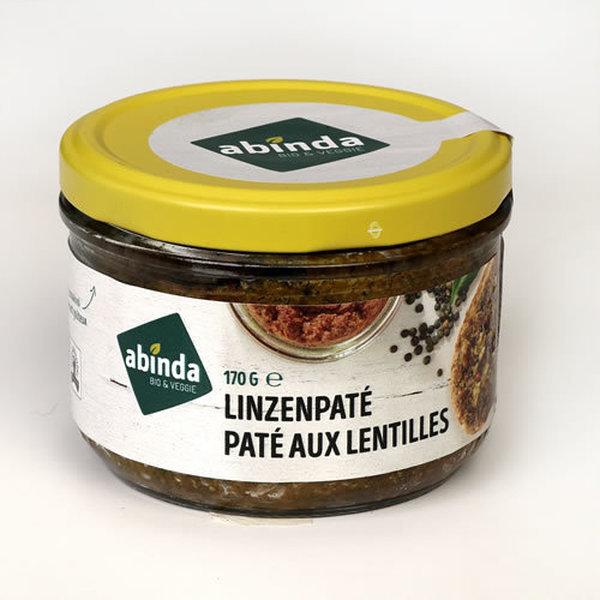 Abinda Linzen (seizoen) paté bio 170g