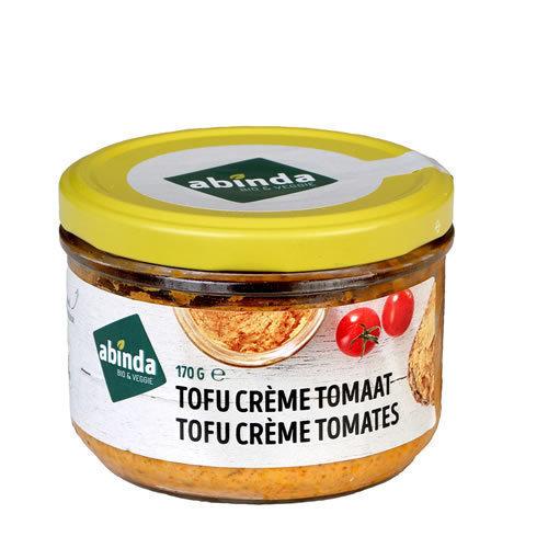 Abinda Tofu crème - tomaat bio 170g