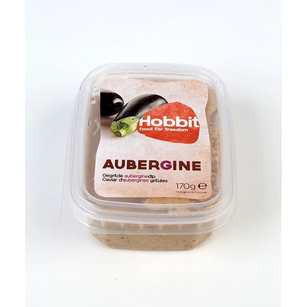 Hobbit Aubergine spread dip bio 170g