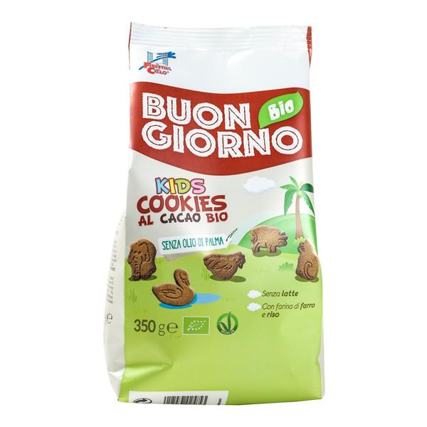 La Finestra Buon giorno kids speltkoekjes cacao bio 350g
