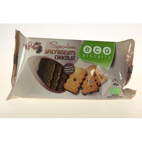 Eco-Bisc. Speculaas chocoladekoekje bio 170g